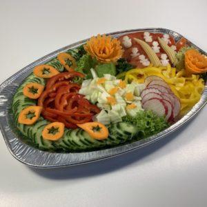 Zeleninová mísa z čerstvé zeleniny - dle váhy 1kg