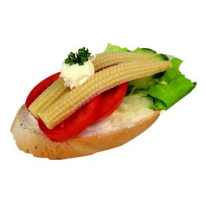 Chlebíček zeleninový