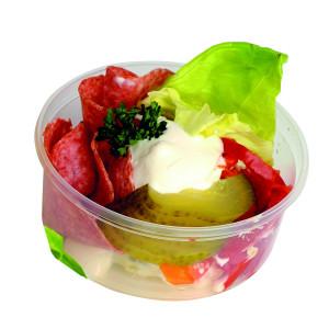 Vejce na bramborovém salátě